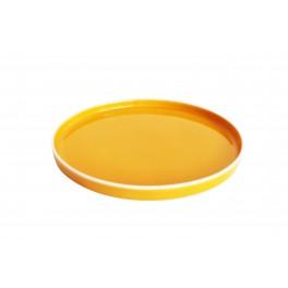 Tallerken - Cirkel Orange
